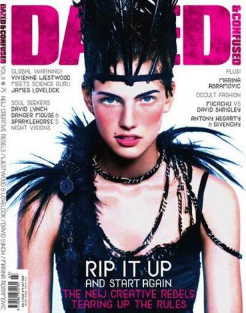 Обложка журнала Dazed and Confused, июль 2009. Изображение № 32.