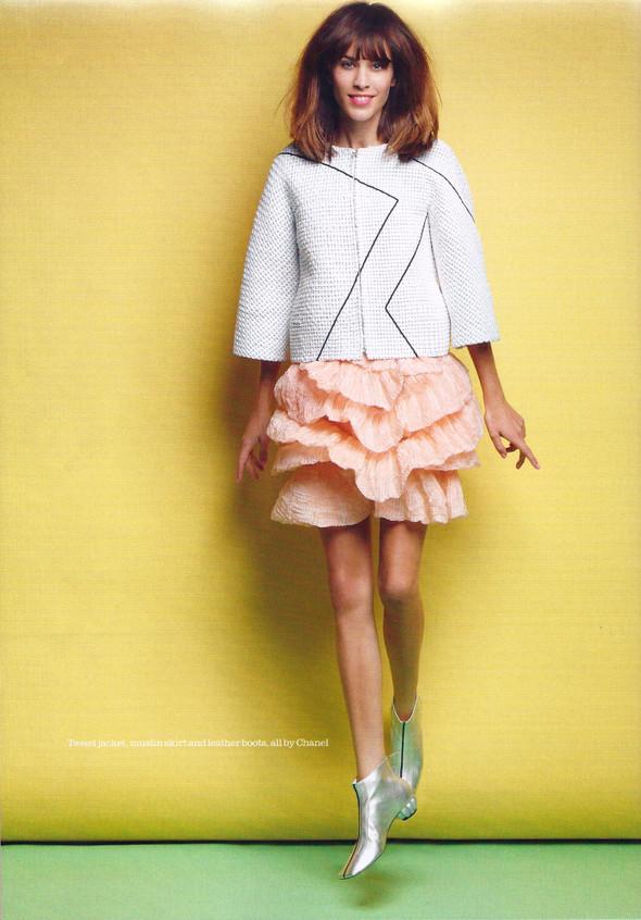 Съёмка: Алекса Чанг для Elle. Изображение № 3.