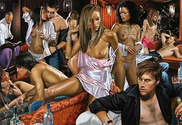 Изображение 30. Терри Роджерс выбрал для своего творчества тему молодежных фетишей: желание во всех ее переизбытках.. Изображение № 30.
