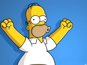 Гомер Симпсон — самый популярный персонаж двадцатилетия. Изображение № 1.