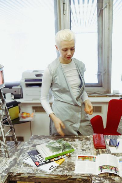 Рабочее место: Кристина Штейнбрехер, арт-директор ЦДХ. Изображение № 6.
