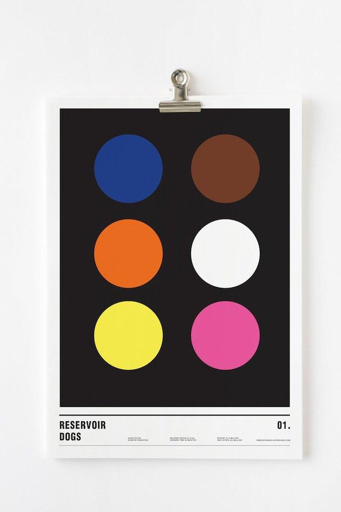 Концепт: постеры к фильмам только из кругов . Изображение № 10.