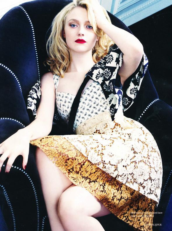 Съёмка: Дакота Фэннинг для Elle. Изображение № 3.