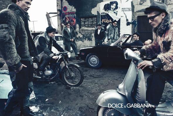Мужские кампании: Fendi, Dolce & Gabbana и Ralph Lauren. Изображение № 8.