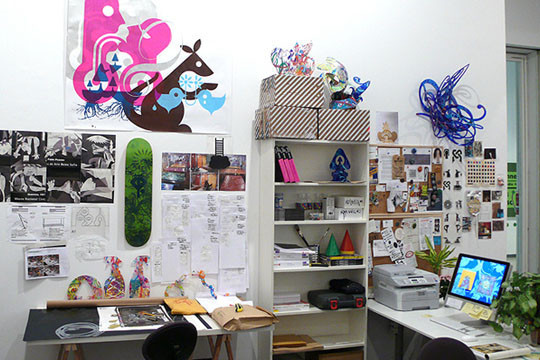 """Выставка """"Studio Franchise"""" художника Ryan McGinness. Изображение № 7."""
