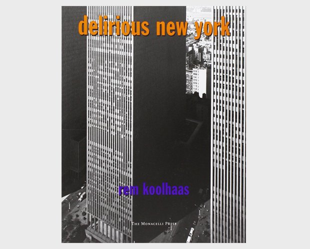 Обложка книги Delirious New-York. Изображение № 3.