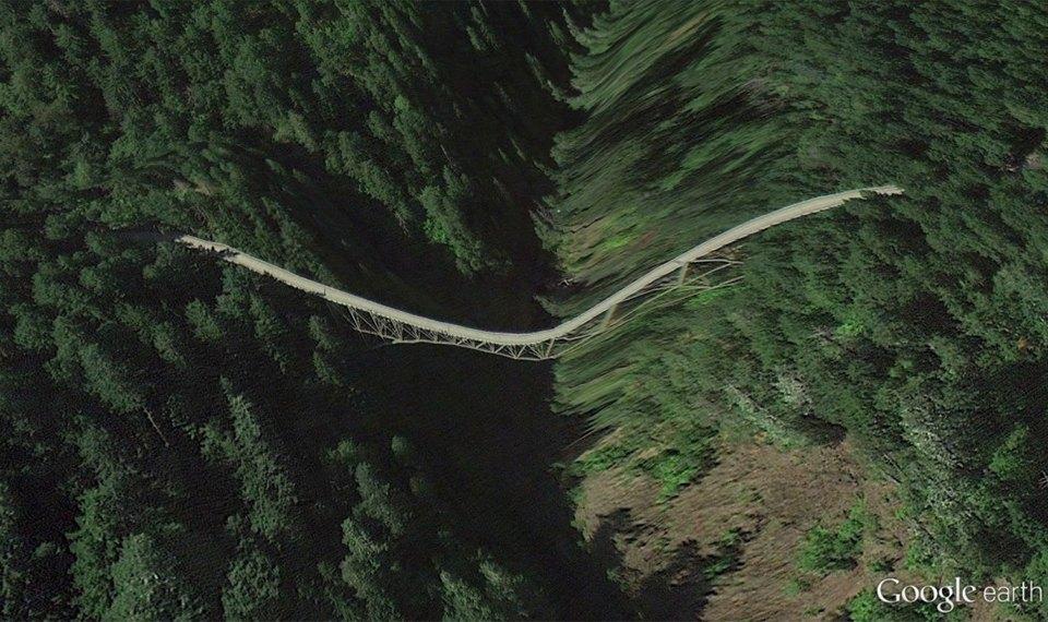 32 фотографии из Google Earth, противоречащие здравому смыслу. Изображение №26.
