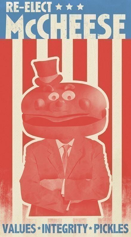 Все на выборы! Политическая реклама разных лет. Изображение № 100.