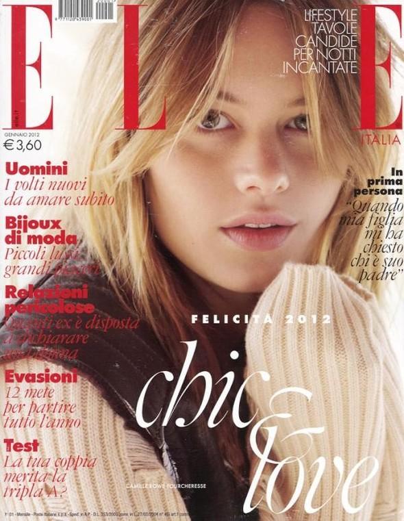 Обложки Elle: Аргентина, Британия, Италия и Канада. Изображение № 3.