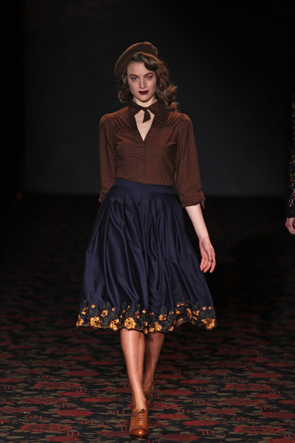 Berlin Fashion Week A/W 2012: Lena Hoschek. Изображение № 47.