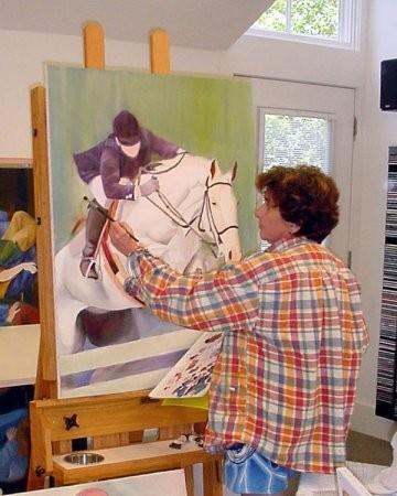 Lisa Fittipaldi - слепой художник. Изображение № 8.