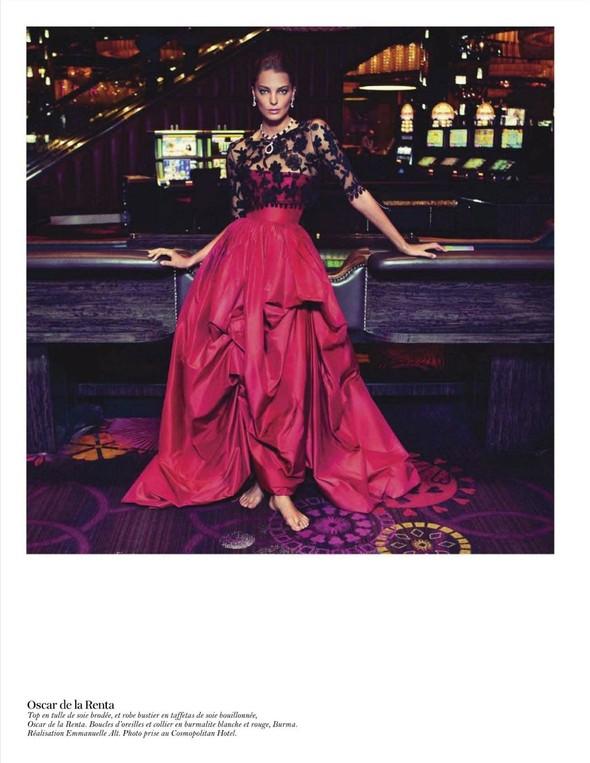 Съёмка: Дарья Вербова для французского Vogue. Изображение № 9.