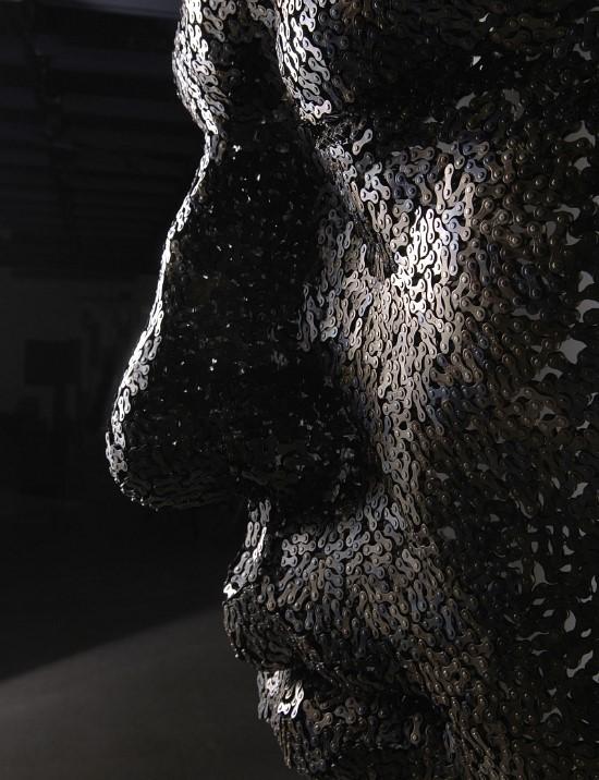 Скульптуры из цепей от Yeong-Deok Seo. Изображение № 4.