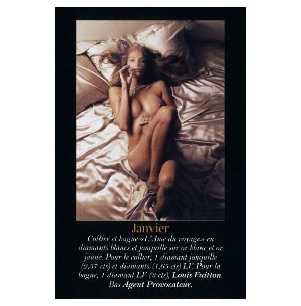 Полная версия календаря французского Vogue на 2011 год. Изображение № 1.