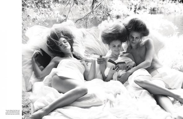 Стоп-кадр: Новые съемки Love, Russh, Vogue и V. Изображение № 20.