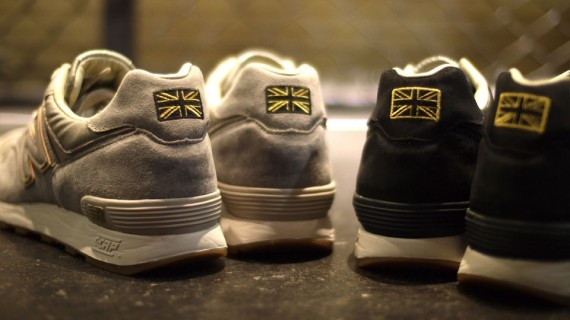 New Balance M576 The Road to London Pack. Изображение № 3.