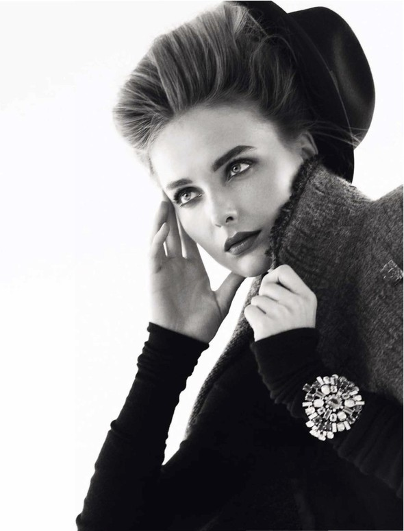 Съёмка: Снежана Онопка для Harper's Bazaar. Изображение № 10.