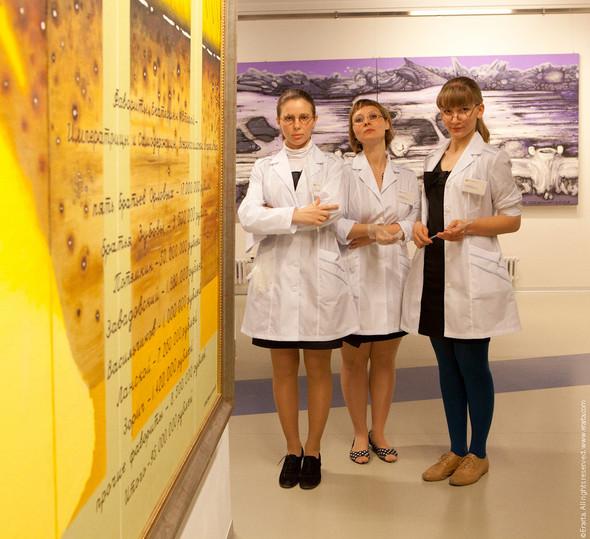 Ночь музеев в НИИ Эрарта. Как это было. Изображение № 53.