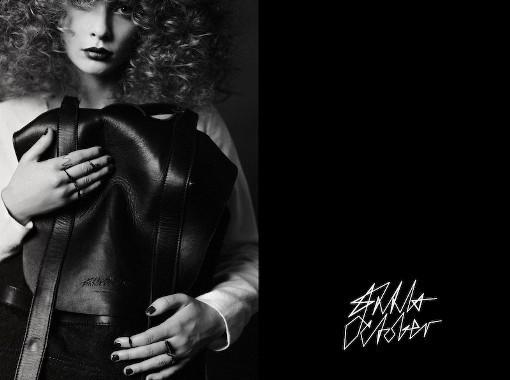 Лукбук капсульной коллекции марки Anna October для Atelier 1. Изображение № 9.