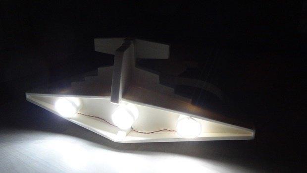 Энтузиаст собрал дрон в виде имперского крейсера. Изображение № 23.