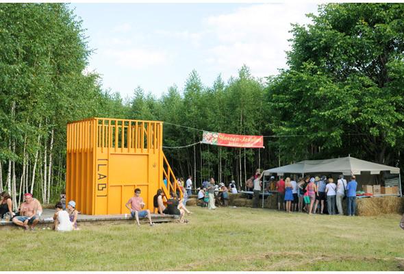 Репортаж с фестиваля «Архстояние 2011». Изображение № 50.