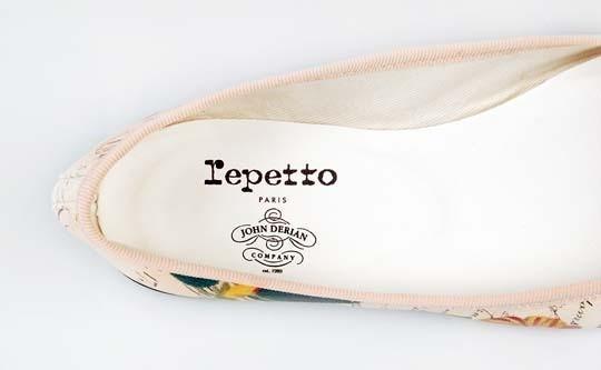 Изображение 1. Джон Дериан разработал коллекцию балеток для Repetto.. Изображение № 4.