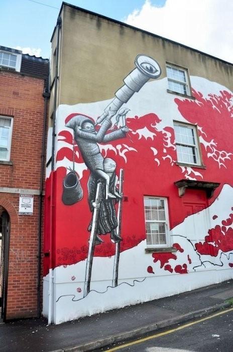 Изображение 36. Бристоль. Художественное граффити.. Изображение № 38.