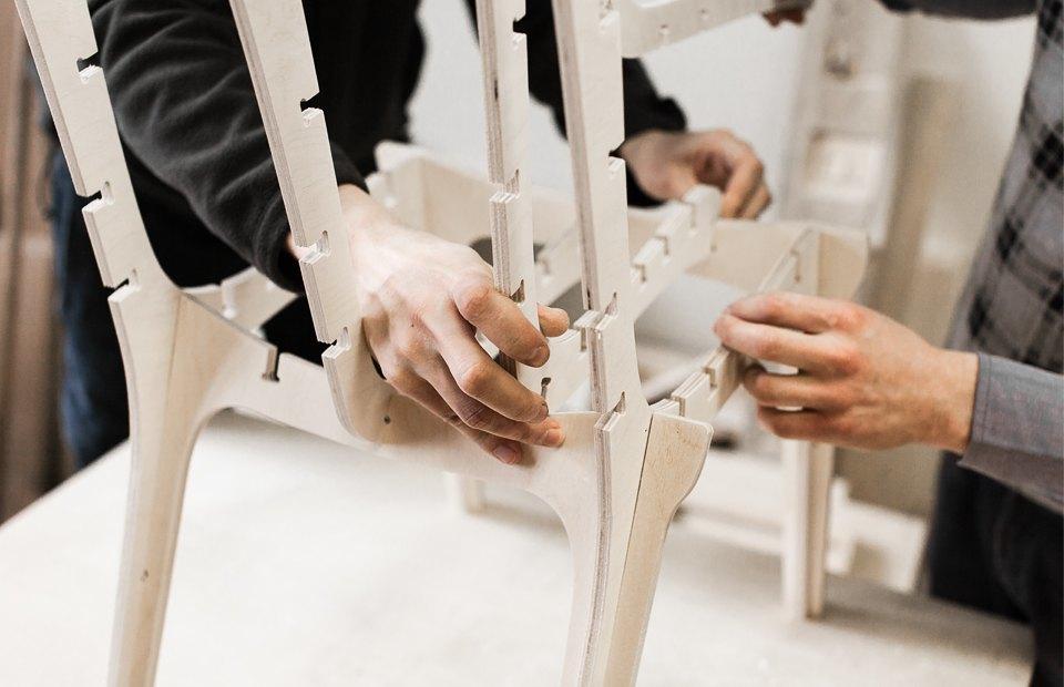Как сделать красивый стул почти самому. Изображение № 6.