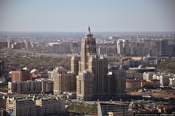 Изображение 13. Астана с высоты птичьего полета.. Изображение № 11.