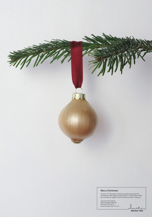 Новогоднее - Рождественский креатив в рекламе. Изображение № 22.