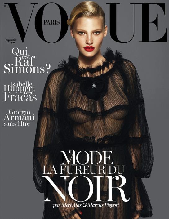 Вышли обложки новых номеров Vogue, Ten, Vs. и Dossier. Изображение № 10.