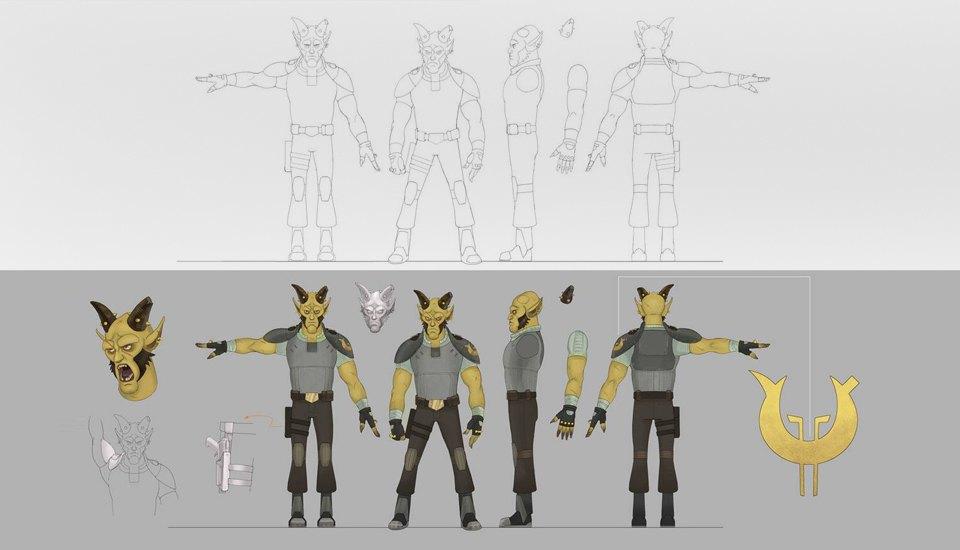 Продюсер анимационных «Звёздных войн» о работе мечты. Изображение № 10.