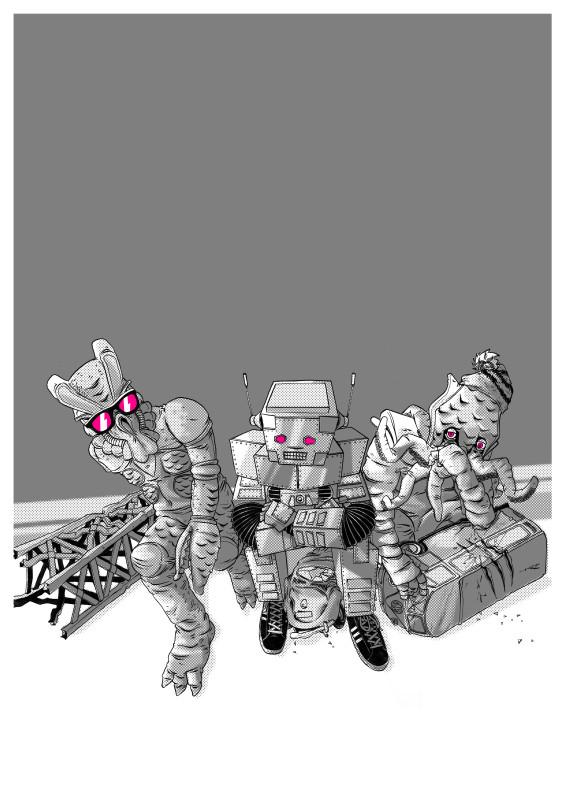 Beastie Boys правила жизни, esquire #43. Изображение № 14.