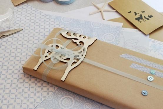 55 идей для упаковки новогодних подарков. Изображение №5.