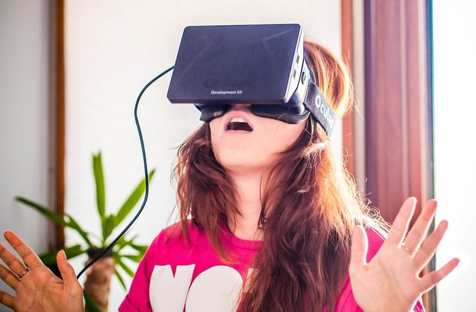 Первое поколение очков Oculus Rift в действии. Изображение № 1.