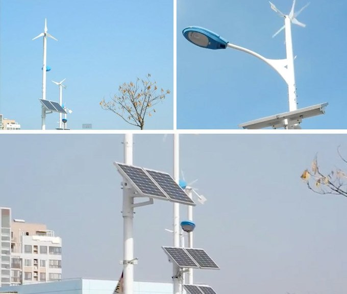 Китайцы будут освещать улицы энергией солнца и ветра. Изображение № 2.