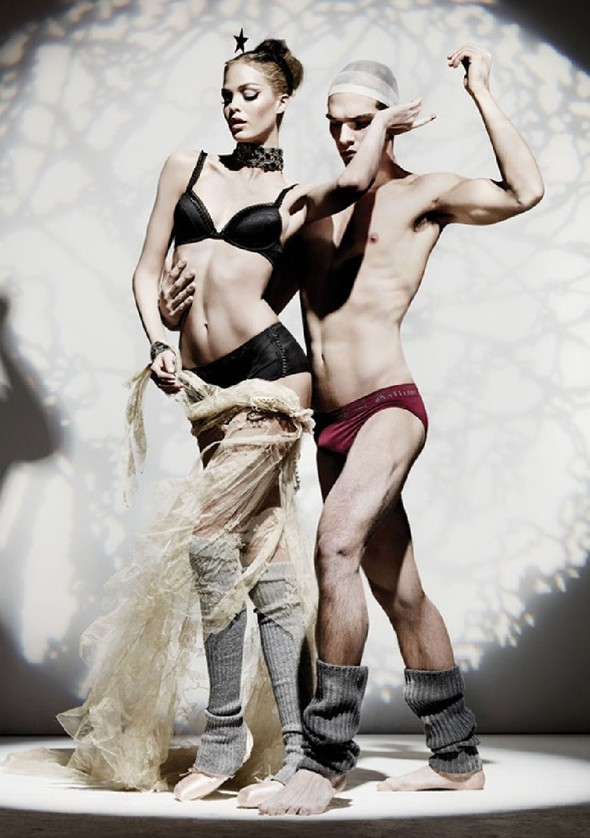 Лукбук: John Galliano Underwear FW 2011. Изображение № 3.