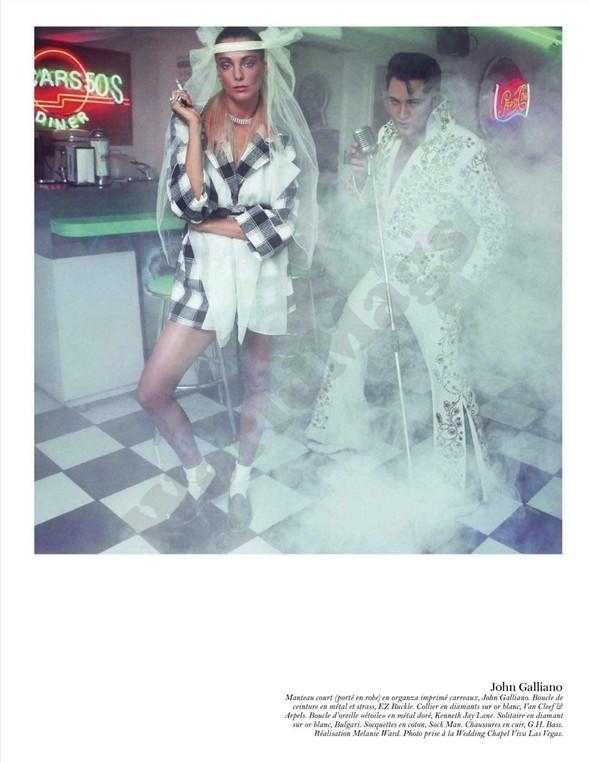 Съёмка: Дарья Вербова для французского Vogue. Изображение № 62.