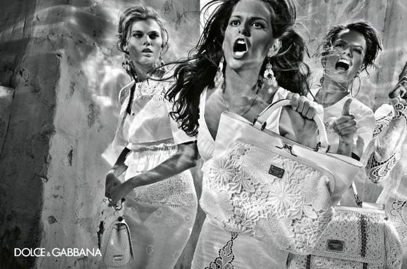 Изображение 22. Рекламные кампании: Lanvin, Prada, Balenciaga и другие.. Изображение № 27.