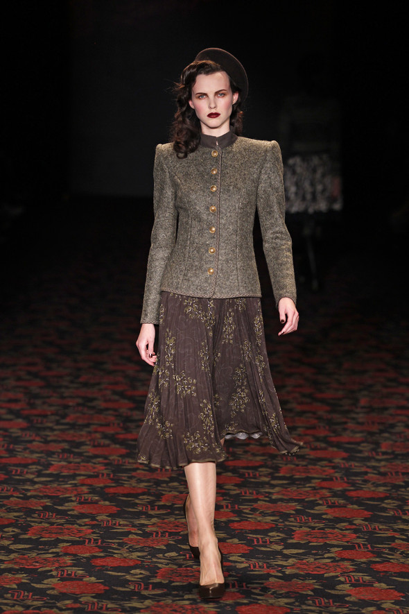Berlin Fashion Week A/W 2012: Lena Hoschek. Изображение № 57.