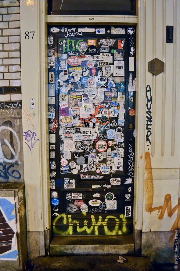 Стрит-арт и граффити Амстердама, Нидерланды. Изображение № 47.