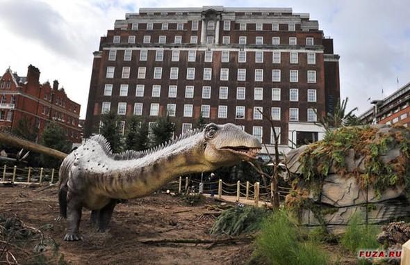 """""""Dinosaurs unleashed"""" или динозавры в Лондоне. Изображение № 19."""