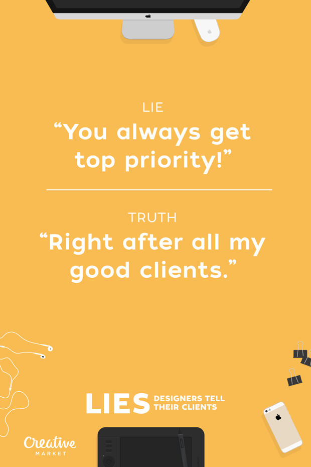 Ложь: «Для вас всегда максимальное внимание» — Правда: «Прямо после всех моих хороших клиентов» . Изображение № 7.