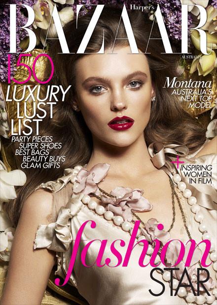 Обложки: Harper's Bazaar и LOfficiel. Изображение № 3.