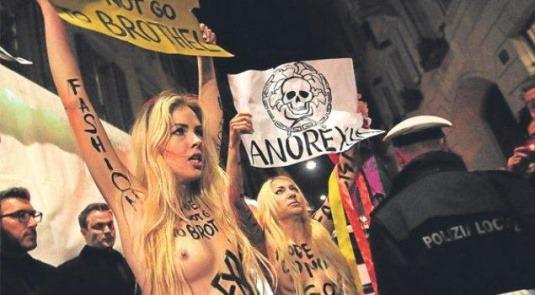 Главные протесты в моде: От человеческих волос до голой демонстрации. Изображение № 5.