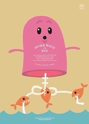 Создатель Dumb Ways to Die о том, как сделать социальную рекламу нескучной. Изображение №5.
