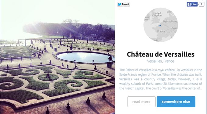 Сервис Somewhere выбирает самые красивые места в Instagram. Изображение № 7.