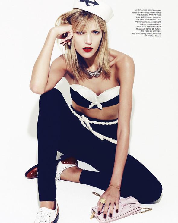 5 новых съемок: Elle, Harper's Bazaar, Numero и Vogue. Изображение № 45.