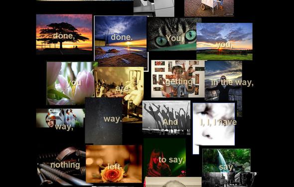 FlickrPoet - загрузи текст и наслаждайся фото. Изображение № 1.