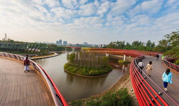 Парк Янвейжоу авторства Turenscape. Изображение № 30.